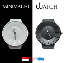 ⌚⚡CRAZY SALE⚡Watch★Casual Watches★Minimalist★Timeless Design★Black★White★Rubber Strap★Light Weight⌚