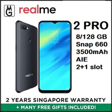 Latest Realme 2 Pro 8/128GB Smartphone / Local 2 Years Warranty / Case/ S.Pro