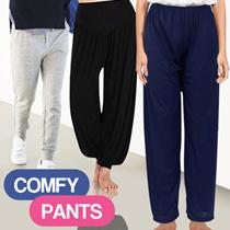 Celana Panjang Santai Wanita Model Aladin Dan Los All Size  Dan Jumbo / Celana dalaman Gamis Muslim