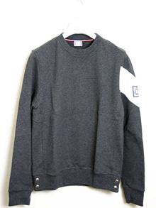 Moncler Gum Blue MONCLER GAMME BLEU Mens Trainer Sweatshirt GREY (Gray) 8005950 80471 950