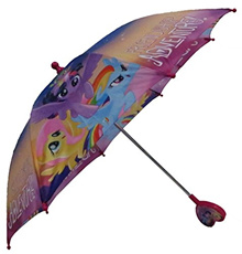 (Hasbro) Hasbro Little Girls My Little Pony Rainbow Character's Umbrella, Multi, One Size-