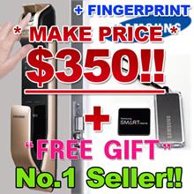 [★MAKE $350!+FREE GIFT!!★] SHP-DP930 / SAMSUNG FINGERPRINT DIGITAL DOORLOCK EZON Door Lock