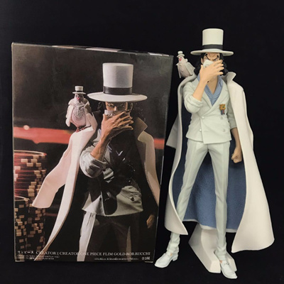 20cm One piece CP9 Rob Lucci Anime Action Figure PVC toys Collection  figures for friends gifts