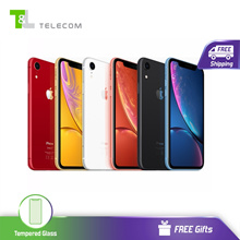 Apple iPhone XR [Dual Nano Sim] 64GB /128GB/256GB LTE - 1 Year Seller Warranty [FREE Screen Protecto