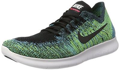 10a47013118 NIKE Nike Mens Free RN Flyknit 2017 Size 12 BLK BLKVLTCHLRBLU006