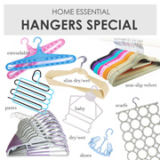 [Cart Coupon Friendly!] SOL HOME-Non slip Smart Hanger/Singapore Local delivery/Clothes Space Saving