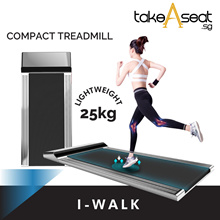 I-Walk Treadmill | Walk Pad | Compact and Small Treadmill | Easy Storage | Home Gym