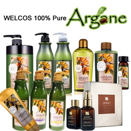 [WELCOS]★Best Price★HAIR CARE WITH PURE ARGANE OIL(Shampoo/Conditioner/Amplule/Treatment Oil