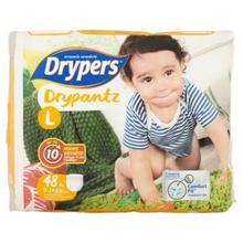 Drypers Drypantz L 9-14kg Disposable Diaper Pants 48pcs [Halal Certification]