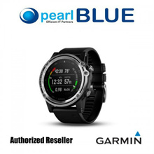 ( PRE-ORDER ) Garmin Descent™ Mk1 - Silver Sapphire with Black Band | Versatile GPS Dive