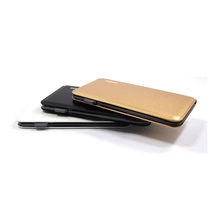 Miniso 6000mAh Battery Power Bank With Cable Slim For iPhone and Android PHC16016