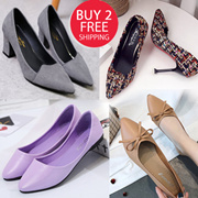Heels shoes flats shoes Wedge plus size shoes jelly shoes High Wedge  slimming shoes fashion