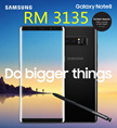 RM 3135 for Note 8 ( RM 400 coupon discount ) Samsung Galaxy Note 8 Dual Sim 64GB LTE - Import with 1 Year Seller Warranty