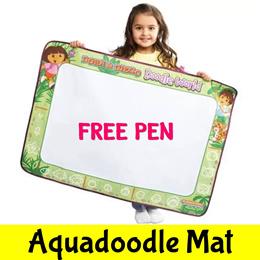 ★8 Designs★Aquadoodle Mat Pen★Kids Children Art Canvas★Drawing ★Water Play★Doodle Board Paper★