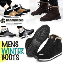 ★Korea Hit  [MEN] WINTER SNOW BOOTS / FUR / PADDING / Warm Fur Waterproof !! / fashion sneakers