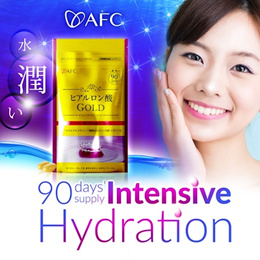 [32%OFF]★ AFC Hyaluronic Acid GOLD ★ Intensive Hydration ★ Moisturise+Boost+Maintain ★