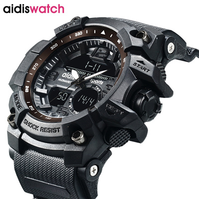 c38796c6594 authentic 2017 New Brand Aidis Fashion Watch Men G Style Waterproof Sports  Military Watches Shock Lu