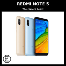 XIAOMI REDMI NOTE 5 ORIGINAL BUILT-IN GLOBAL ROM / 12 MONTHS OFFICIAL XIAOMI SINGAPORE WARRANTY