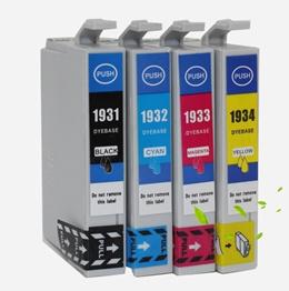 EPSON 193 series 1931 1932 1933 1934 WF2521 WF2531 WF2541 WF2631 WF2651 WF2661 (1 BLACK+ 3 COLOR)