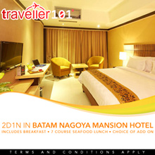Batam Nagoya Mansion Hotel Packages with Ferry Ticket