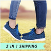 [ BUY 2 IN 1 SHIPPING]Korean version of casual sports shoes casual shoes breathable shoes men shoes