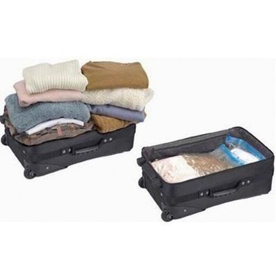 Hand Roll Vacuum Bag for Travelling.Cocok buat yg suka berpergian dengan beban berlebihan.Praktis loh Deals for only Rp250.000 instead of Rp250.000