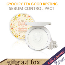 [atfox] Gyoolpy Tea good resting sebum control pact