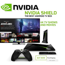 Nvidia Shield TV Streaming Media Player 2017 K-1 Tablet
