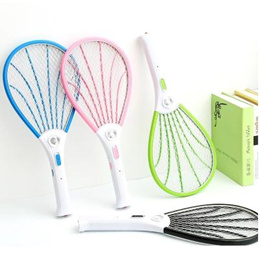 Fly swatter/Rechargeable electric mosquito swatter household with LED lights mosquito swatter