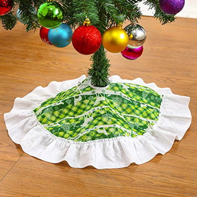 Qoo10 Christmas Tree Skirt Xmas Holiday Tree Decoration Ornaments