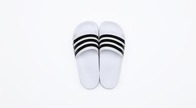 b40e31ede66f Qoo10 -  ADIDAS  CF ADILETTE AQ1702 FTWWHT CBLACK FTWWHT Sneakers ...