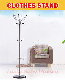 ★2017 New Stock★Floor Standing Coat Rack★clothes hanger/ garment rack/ standing hanger/ /Tree Hook