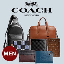 [COACH]  240 Type Men Wallet Bag Collection ★