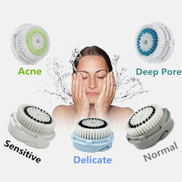Clarisonic Replacement Brush Heads for Clarisonic Skin Cleansing  Sonic Skin Cleansing System FACIAL  Cleansing System sonic brush CLEANSING BRUSH makeup remover