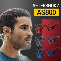 AfterShokz Aeropex AS800 Open-Ear Wireless Bone Conduction Headphones