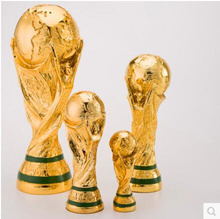 Brazil World Cup model football championship trophy fans souvenir