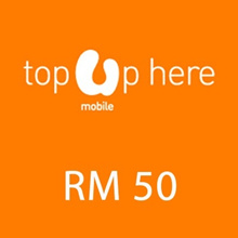 Umobile instant Top UP RM 50