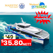 【Weekend Go Where】Majestic Batam / SG Ferry ticket [2 Way] - All TAX included! Lowest price!