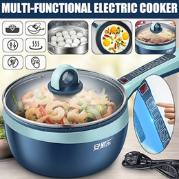 🔥Multipurpose 🔥Electric Cooker / Frying Pan 🍳🍳Convenient ★No Need Fire★ Small Cooking