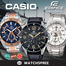 *CASIO GENUINE* CASIO EDIFICE SERIES WATCHES! Free Reg. Shipping and 1 year warranty!