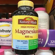Nature Made Magnesium 400 mg., 150 Liquid Softgels