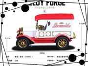 1:32 Ford Vintage Car Alloy Diecast Car Model Sound&Ligh?t white B2781 (Size: 13cm by 5.5cm by 6.5cm