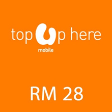 [Mobile App Only] Umobile instant Top UP RM 28