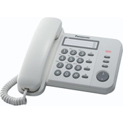 Panasonic KX-TS580 Corded Phone Handfree Speaker Caller ID Fast Delivery(Export)