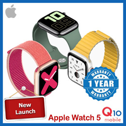 [New launch] Apple Watch Series 5 / Space Grey Aluminium Case with Sport Band / GPS version
