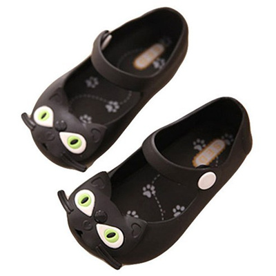 574488319f89 (Infant shoes cp014) Joy multi-large eyes heart cry baby jelly shoes (
