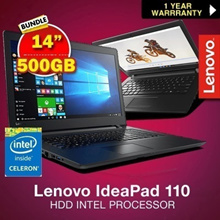 Lenovo IdeaPad 110 -14IBR 80T6 | 5IBR (N3060) 4GB RAM 500GB HDD INTEL PROCESSOR. B