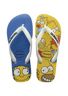 Havaianas Simpsons White Flip Flop