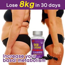 ★Renewal★[Devil Diet] CLA Premium Diet Pill 30days Weight Loss Slimming Burning Fat Belly Tummy