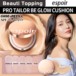 [Espoir]  PRO TAILOR BE GLOW CUSHION SPF42 PA++(5color)[Beauti Topping]